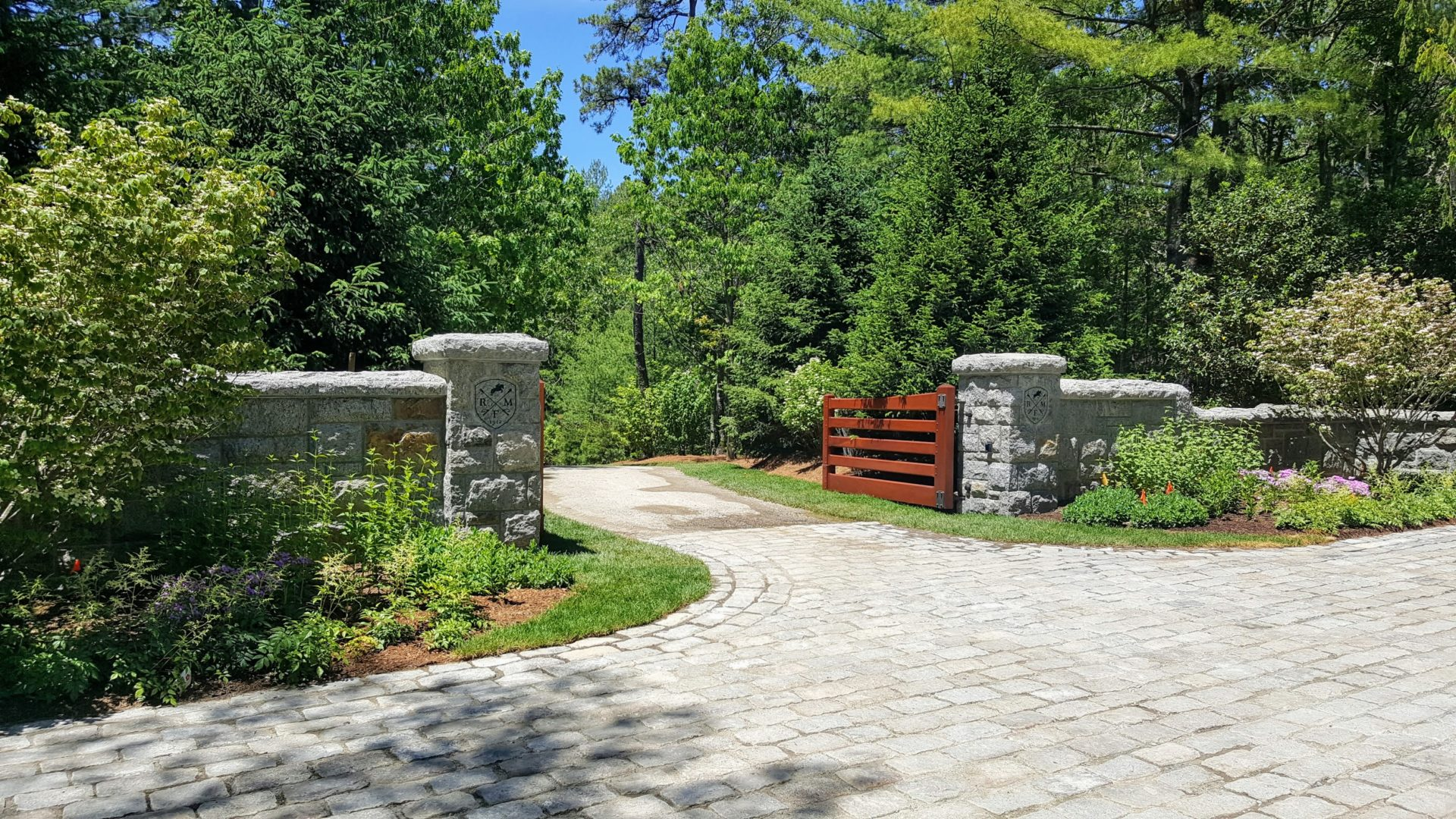 A Grand Entryway in Cotuit