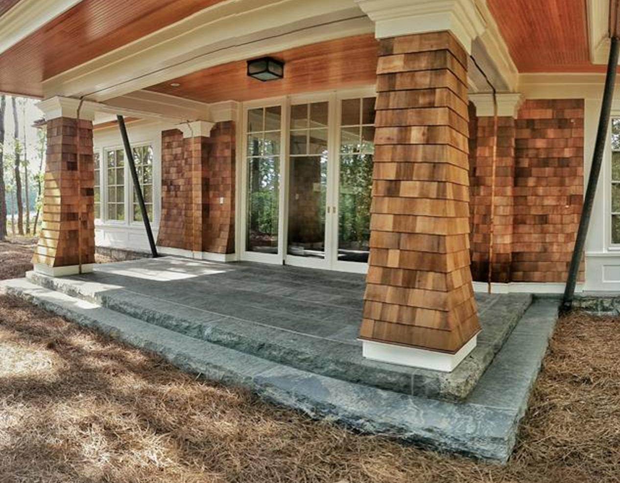 Granite Patio Entryway Porch Cape Cod Cornerstone