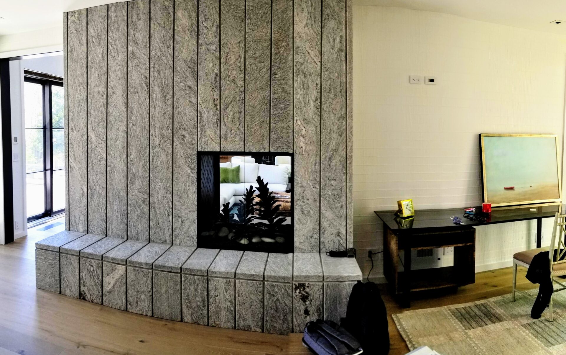 Modern-Fireplace-Cotuit