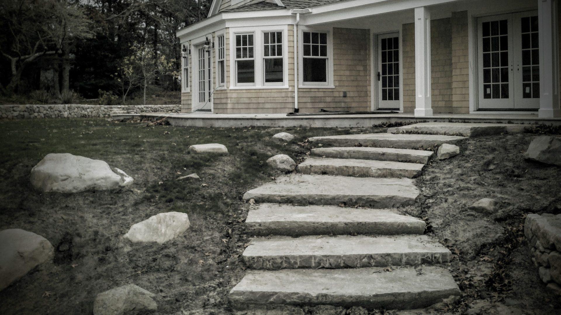 Monolithic Granite Steps Orleans