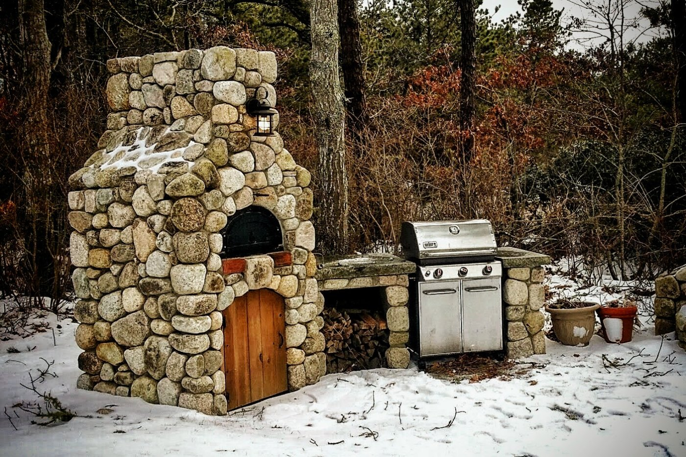 Pizza Oven Chicago Brick Oven Yarmouth Cape Cod Cornerstone BBQ