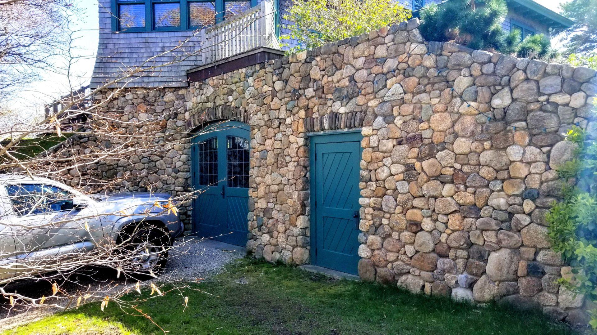 Provincetown Fieldstone Veneer Home