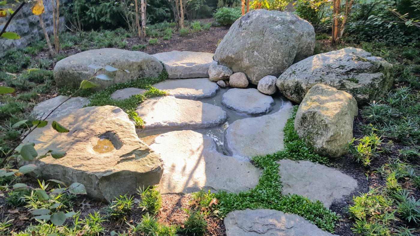 Secret Boulders River Garden Cotuit Cape Cod
