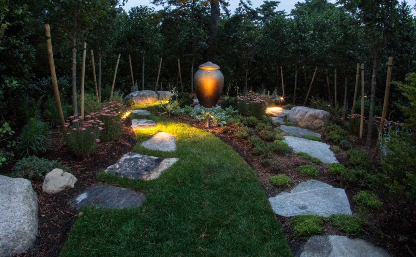 Stone Garden Lighting