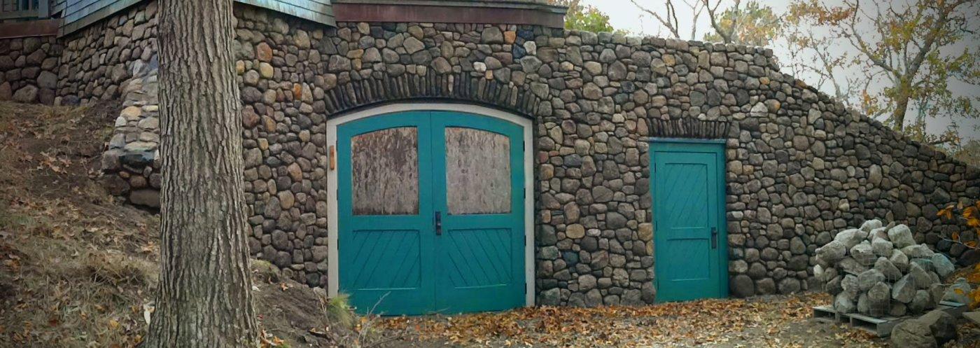 Stone Home Provincetown, Cape Cod Mass Ecclectic
