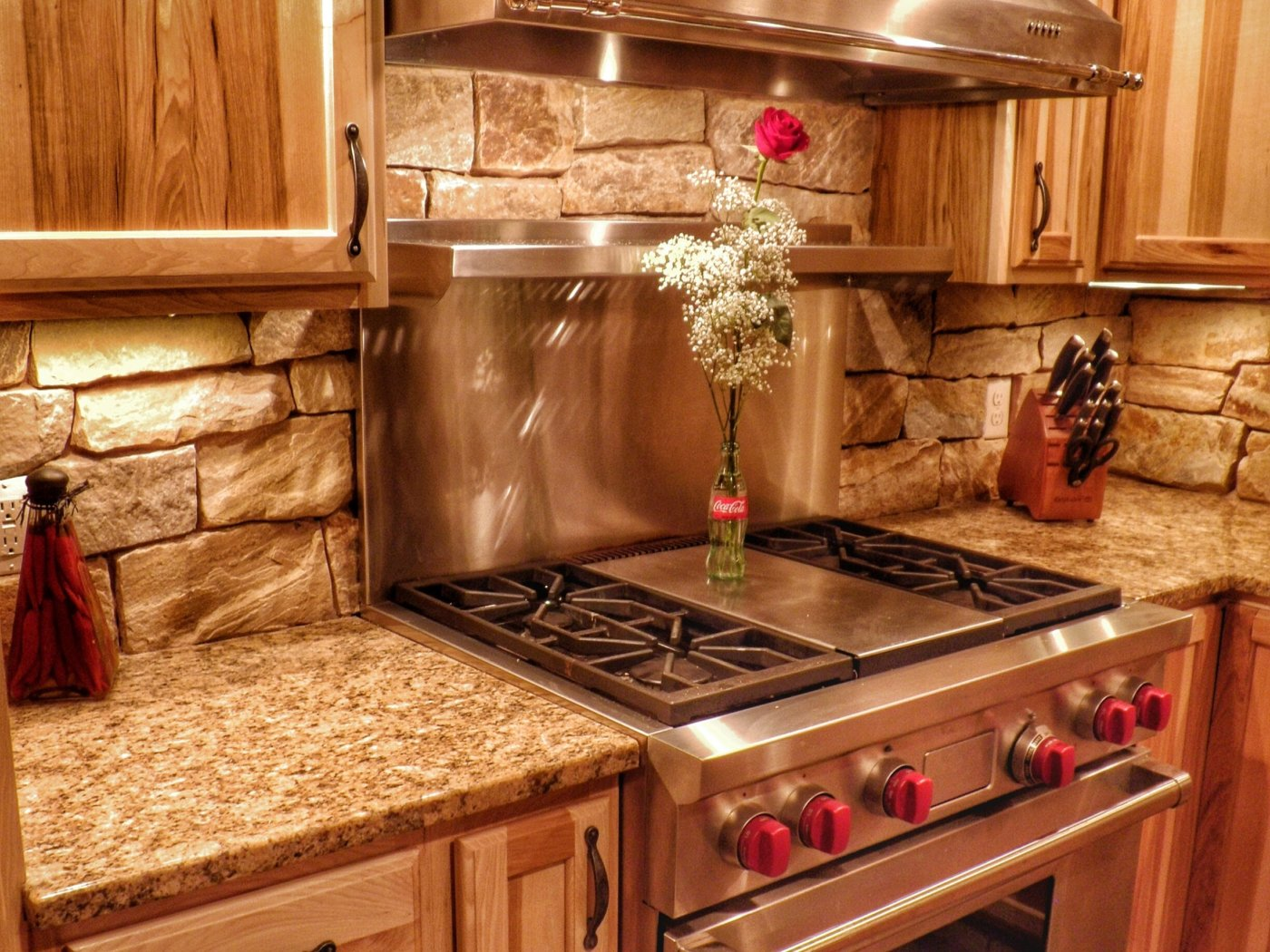 Stone Veneer Kitchen Brewster Cape Cod